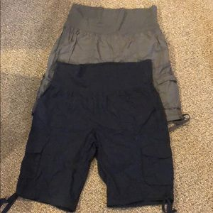 Two pairs of women's Calvin Klein  large  shorts